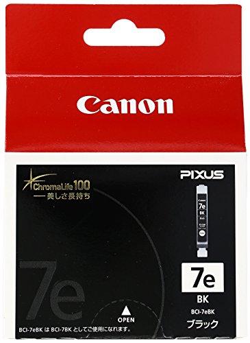 Canon 純正インクカートリッジ BCI-7e ブラック ...