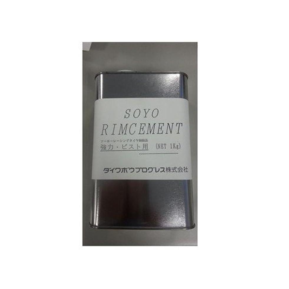 アリ電気的エッセイSOYO(ソーヨー) リムセメント(ピスト) 大缶入 1kg
