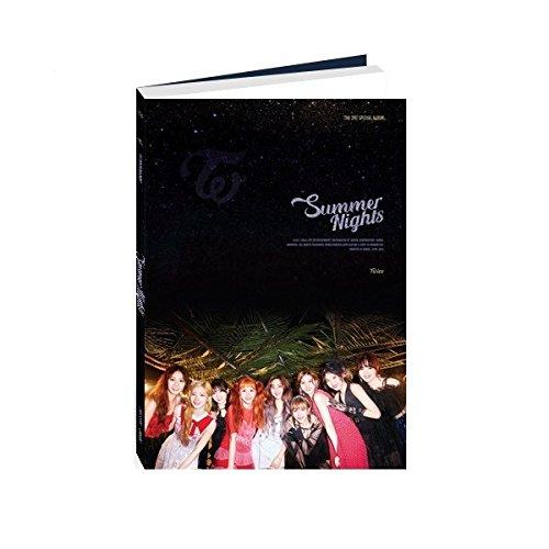 トワイス - Summer Nights [C ver.] (2nd Special Album) CD+Photobook+Photocards+Folded Poster [KPOP MARKET特典: 追加特典フォトカードセット] [韓国盤]