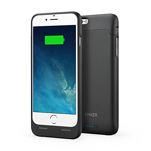 【Apple認証 (Made for iPhone取得)】 Anker ウルトラスリムバッテリーケース iPhone 6 / 6s 4.7インチ用 容量 2850mAh 120% バッテリー容量を追加 A1405011