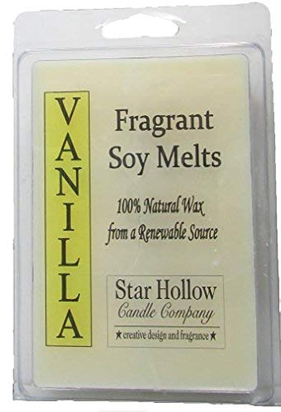 農民ギャンブルかなりStar Hollow Candle Co Vanilla Soy Melts 6 oz [並行輸入品]