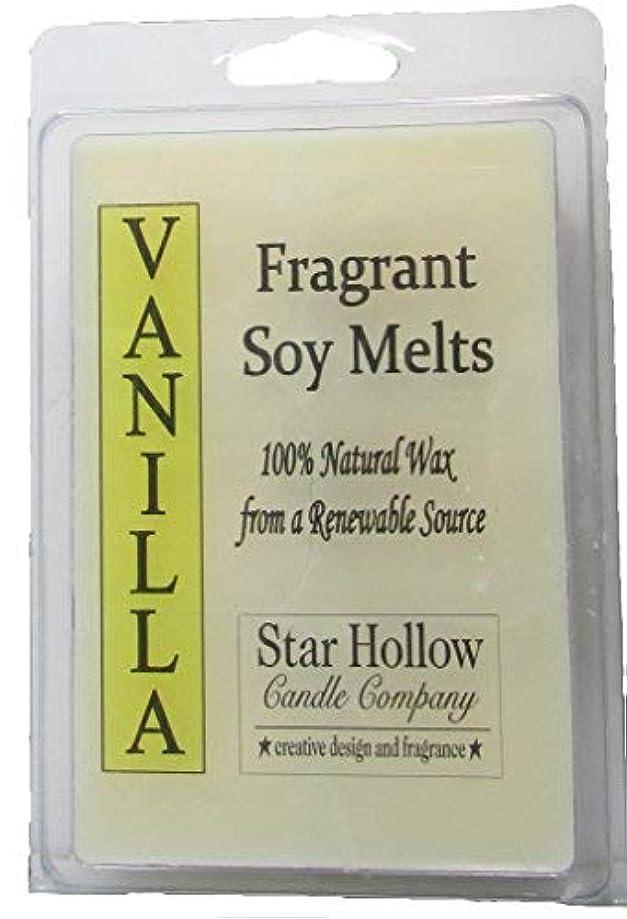 主人感謝祭カーペットStar Hollow Candle Co Vanilla Soy Melts 6 oz [並行輸入品]