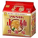 東洋水産 マルちゃん正麺 醤油味 5食パック×6個入
