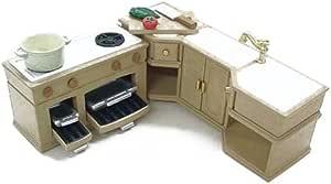 シルバニアファミリー 家具 キッチンセット カ-411