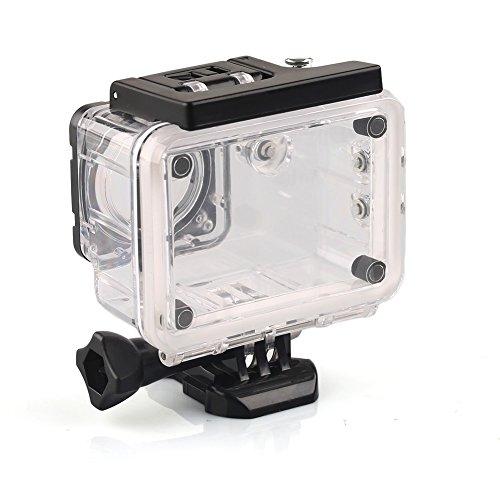 [해외]Gopro sj4000 전용 카메라 방수 케이스 방수 하우징 케이스 내압 수심 30m 방수 보호 프로텍터 수중 촬영용 크리스탈 컬러/Gopro sj 4000 exclusive camera waterproof case waterproof housing case pressure resistant water depth 30 m waterproo...