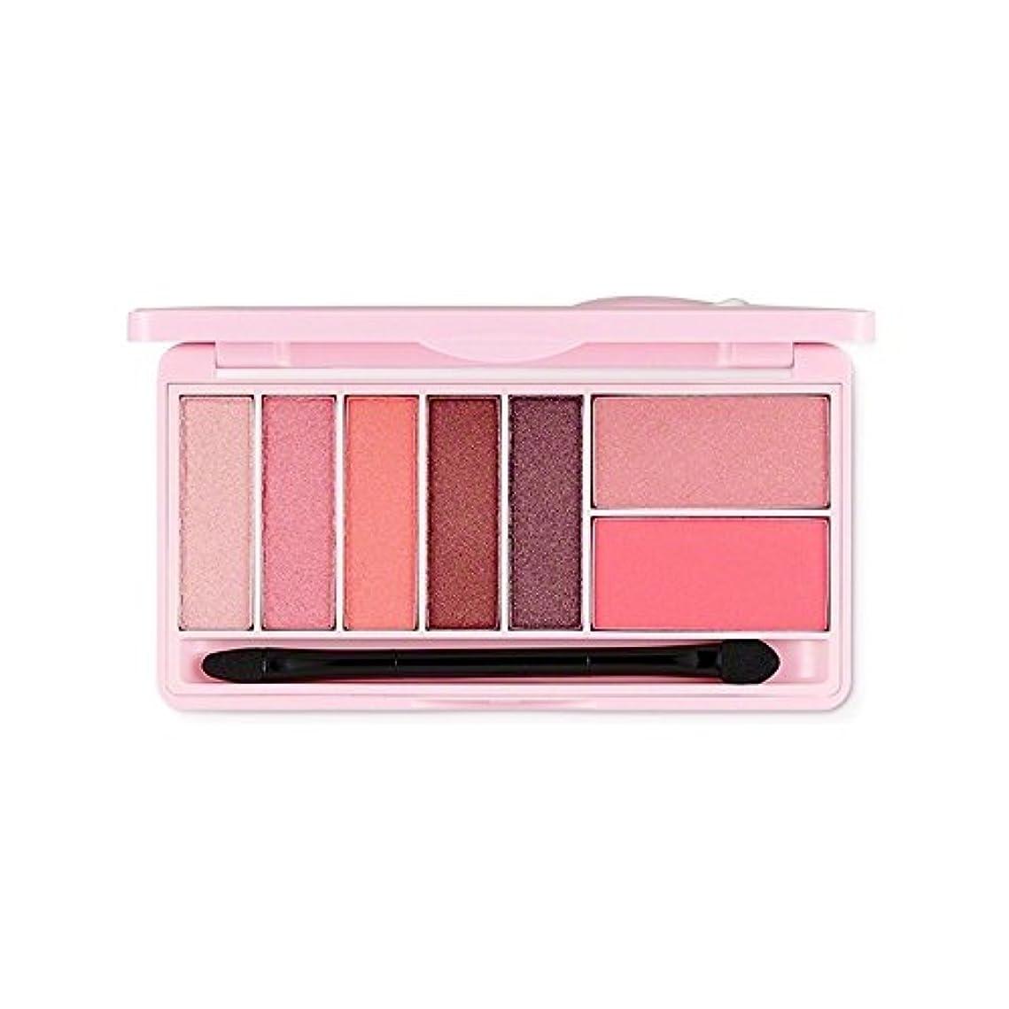マーチャンダイザー白いファンシーThe Face Shop スウィートアペックチャーモノポップアイズ Kakao FriendsThe Face Shop Sweet Apeach Mono Pop Eyes 9.5g/甘いアペサート (Pink Winking...