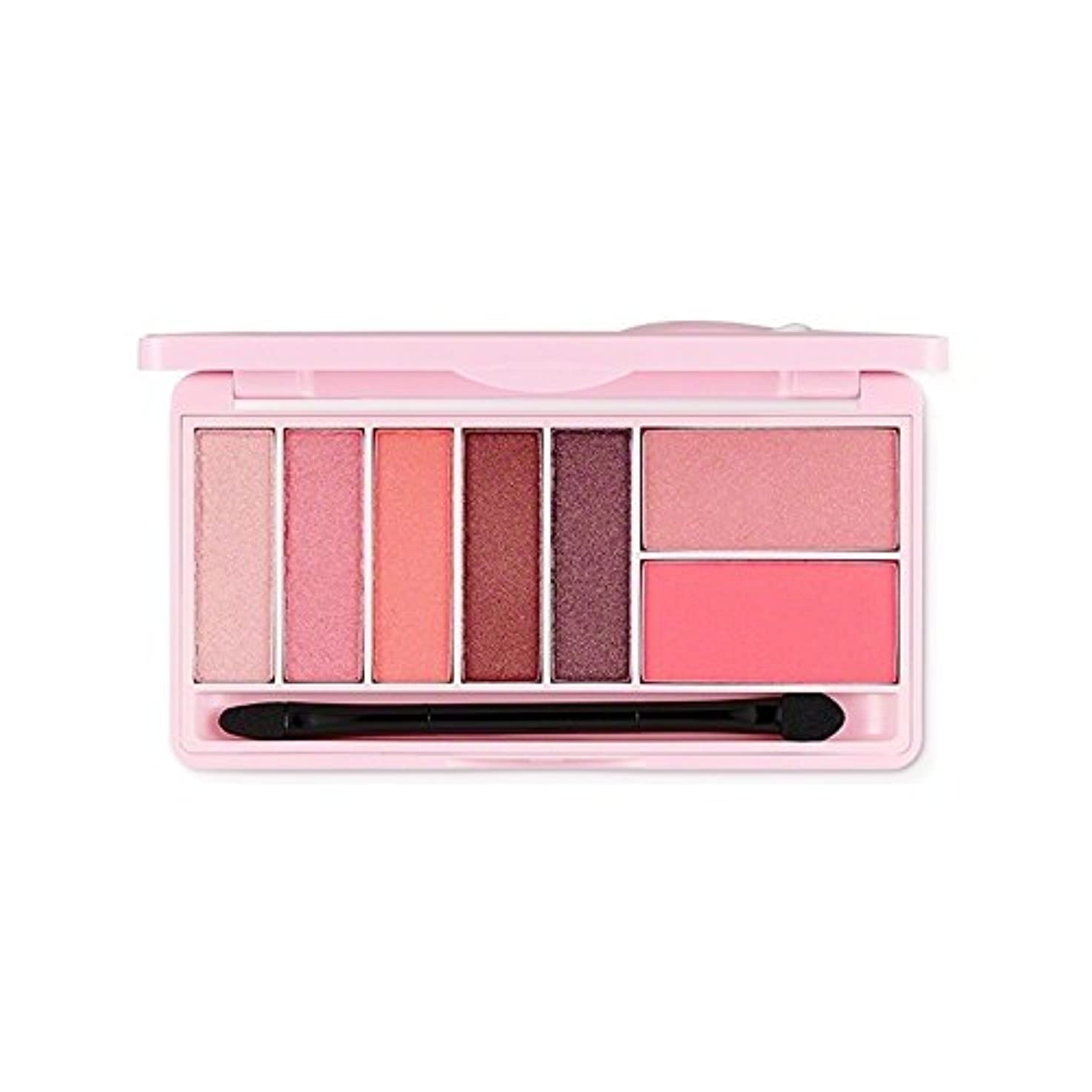 適応する変化する寂しいThe Face Shop スウィートアペックチャーモノポップアイズ Kakao FriendsThe Face Shop Sweet Apeach Mono Pop Eyes 9.5g/甘いアペサート (Pink Winking...