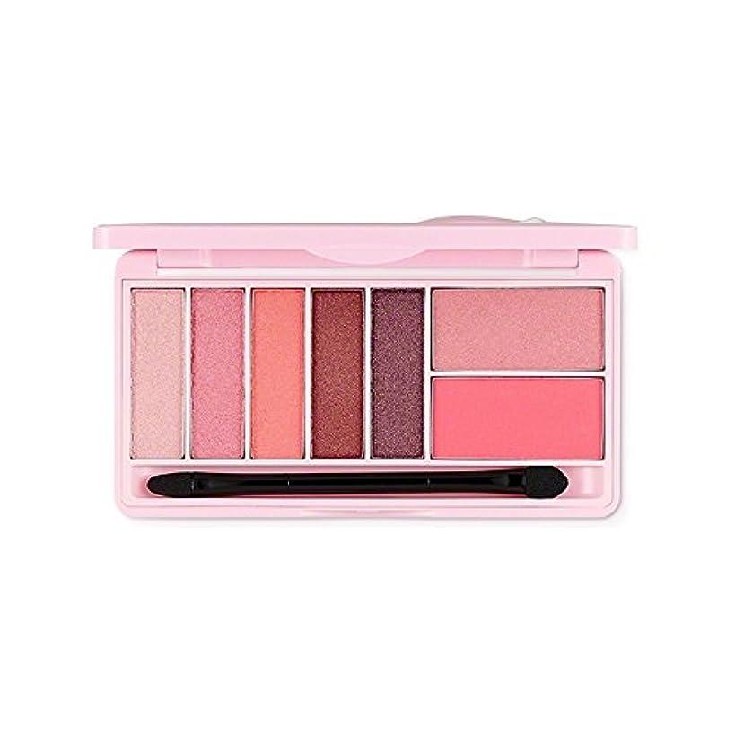 丁寧種給料The Face Shop スウィートアペックチャーモノポップアイズ Kakao FriendsThe Face Shop Sweet Apeach Mono Pop Eyes 9.5g/甘いアペサート (Pink Winking...