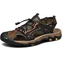 [つるかめ] ハイキングシューズ スポーツサンダル ビーチシューズ メンズ 登山靴 ウォーキングシューズ トレッキングシューズ ウォーターシューズ アウトドアススニーカー 防滑 防臭 ブラウン 24.5CM cx19303