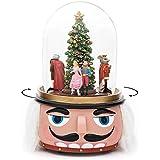 Kensington Row クリスマスコレクション スノーグローブ - くるみ割り人形 バレエ リボルビング ミュージカル スノーグローブ