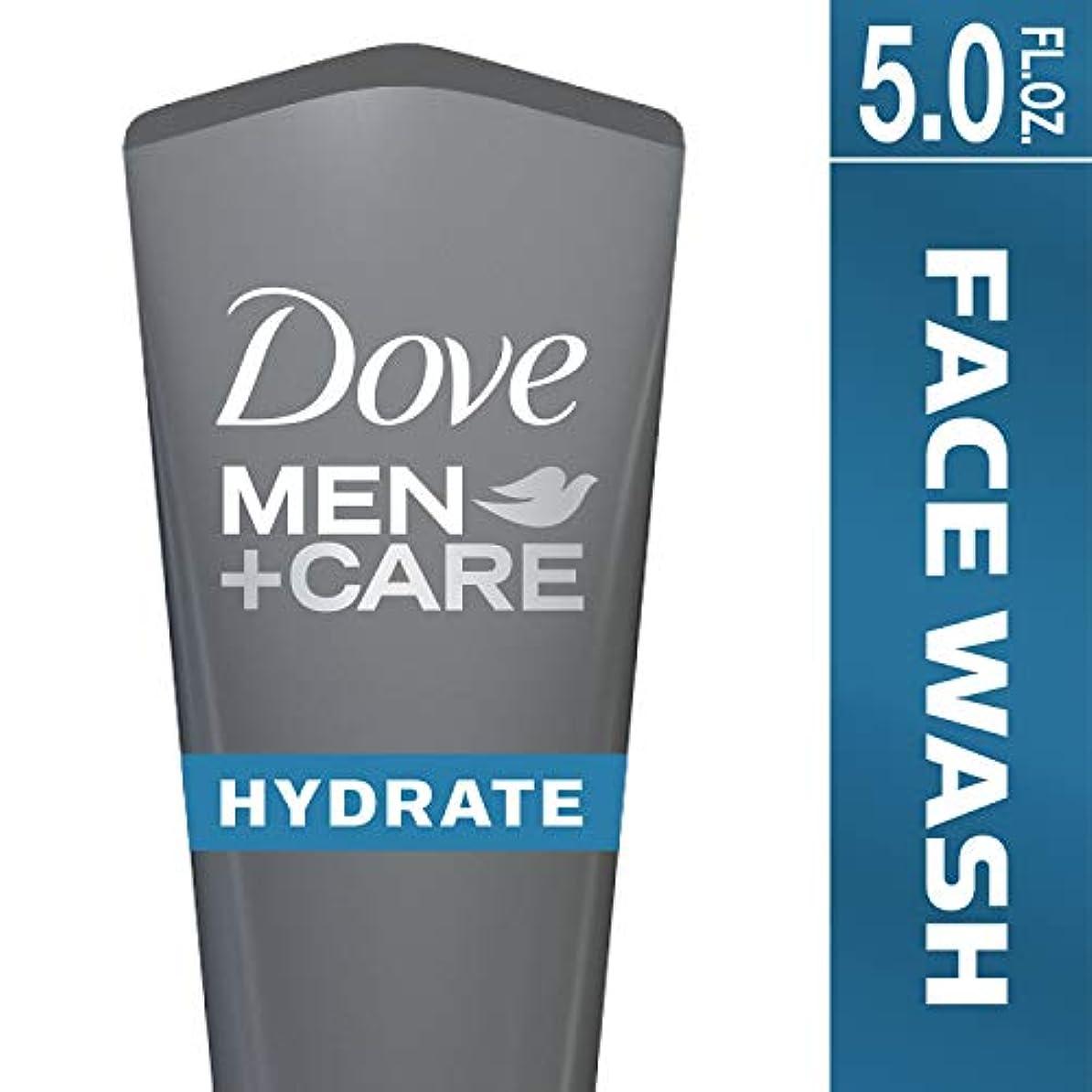 Dove Men+Care フェイスウォッシュ 保湿+ 147.9ml (5オンス) 147.9ml (5オンス)