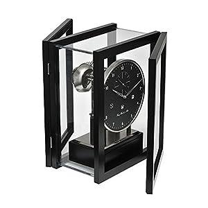hermle 置き時計・掛け時計 ブラック 36×26.5×21㎝
