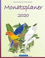 BROCKHAUSEN - Monatsplaner 2020