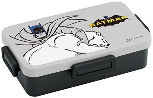 お弁当箱 バットマン 4点ロック1段タイトランチボックス 850mL バットマン カラー/JZFL85