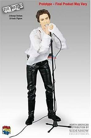 RAH リアルアクションヒーローズ SEX PISTOLS Johnny Rotten ジョニー・ロットン 1/6スケール ABS&ATBC-PVC製 塗装済み可動フィギュア
