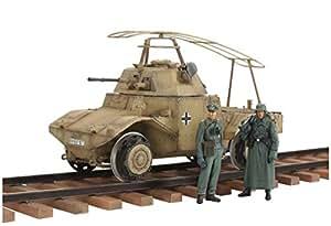 タミヤ 1/35 ミリタリーコレクションシリーズ No.13 ドイツ軍 鉄道装甲車 P204 (f) プラモデル 32413