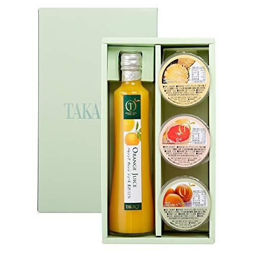 新宿高野 ジュース&ゼリーギフト1JEA オレンジジュース・フルーツゼリー [内祝い/手土産/訪問] 贈答品 ギフト 箱入り