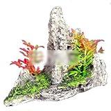 ZooooM 水槽 内装 オブジェ オーナメント 飾り 置物 熱帯魚 レイアウト お洒落 アクアリウム インテリア ( D タイプ ) ZM-AQUA1540-D