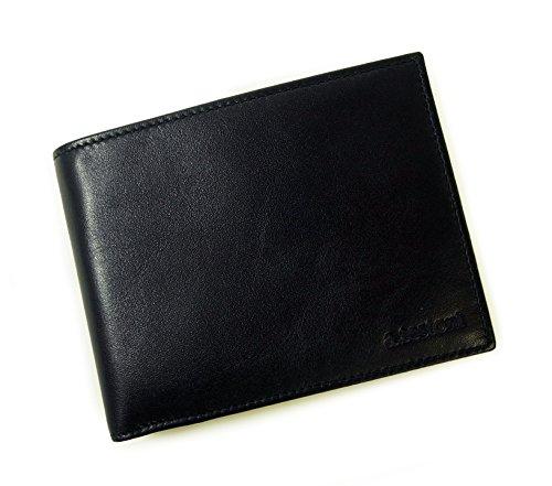 [テストーニ] 財布 メンズ 二つ折 ナッパカーフ レザー ...