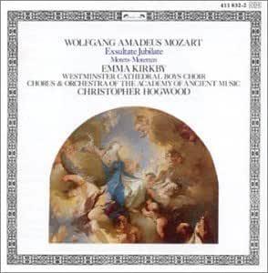 Mozart: Exsulstate/Jubilate