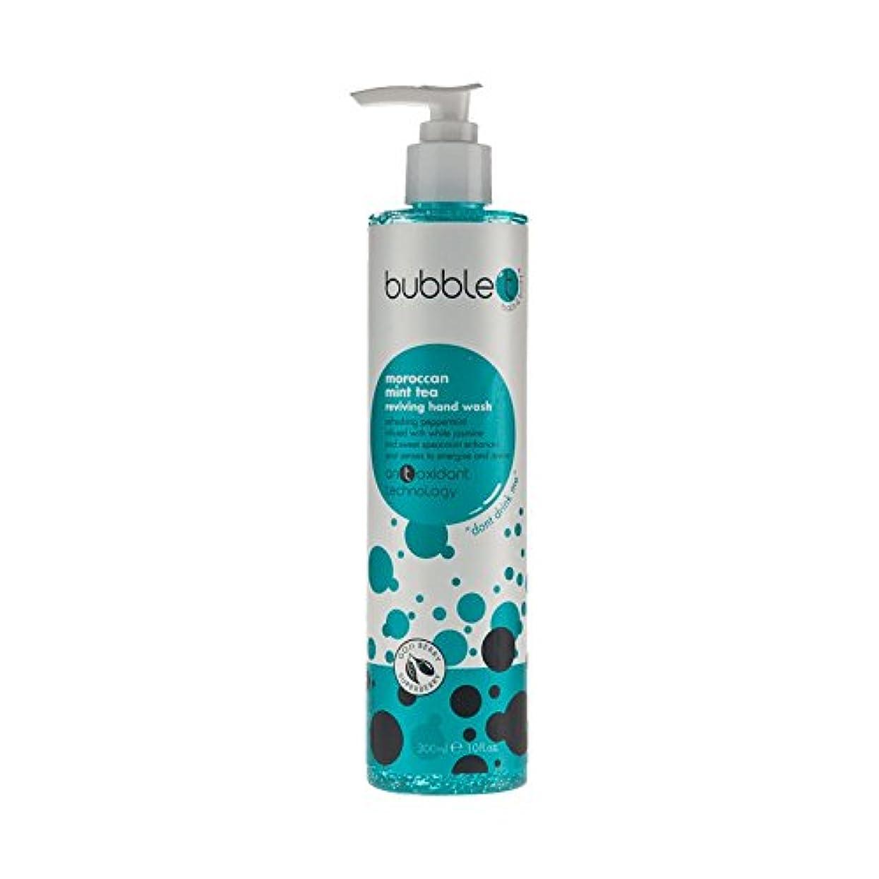 誠意汚す呼び出すBubble T Hand Wash Morrocan Mint 300ml (Pack of 6) - バブルトン手洗いモロッコミント300ミリリットル (x6) [並行輸入品]