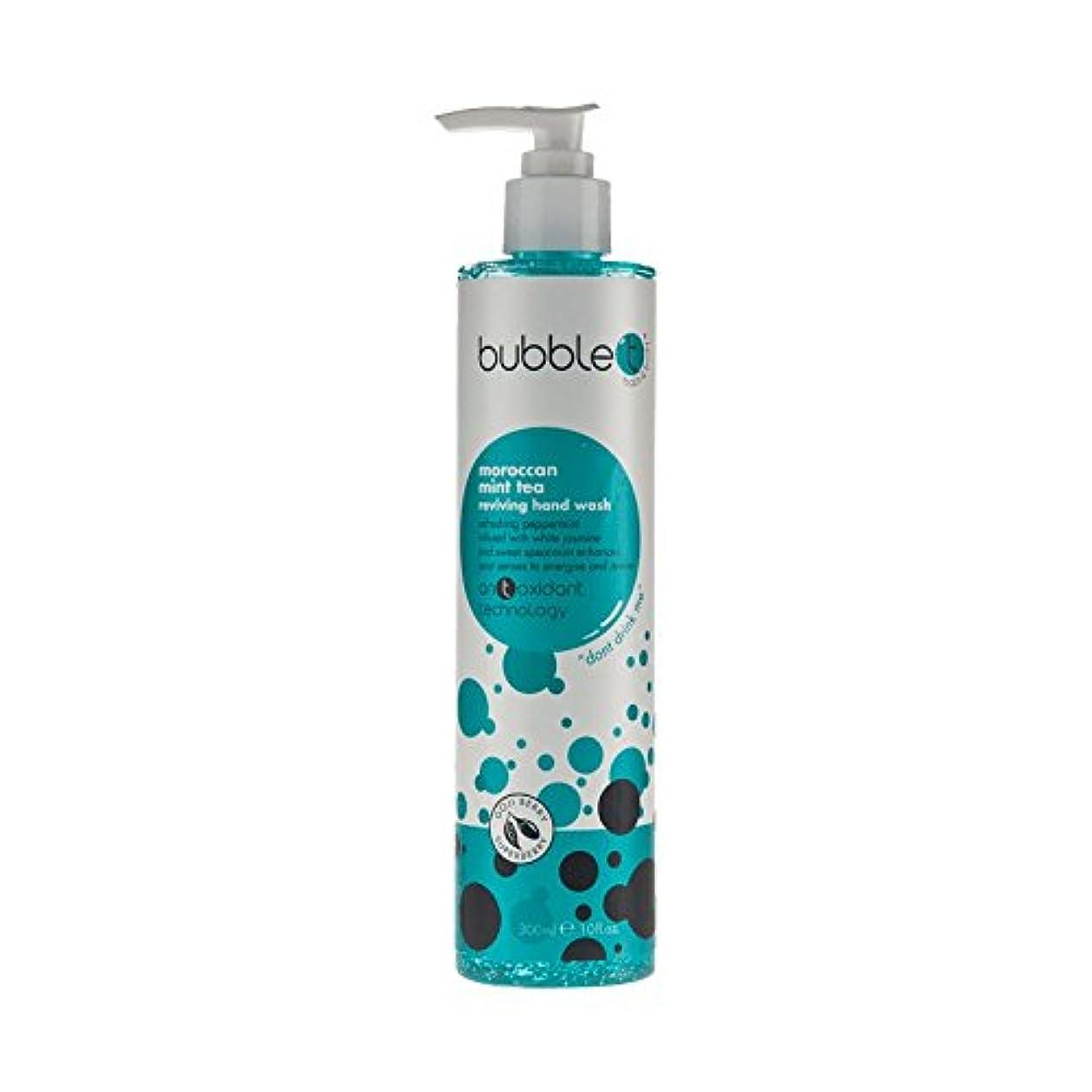 クリームホーススロットBubble T Hand Wash Morrocan Mint 300ml (Pack of 6) - バブルトン手洗いモロッコミント300ミリリットル (x6) [並行輸入品]