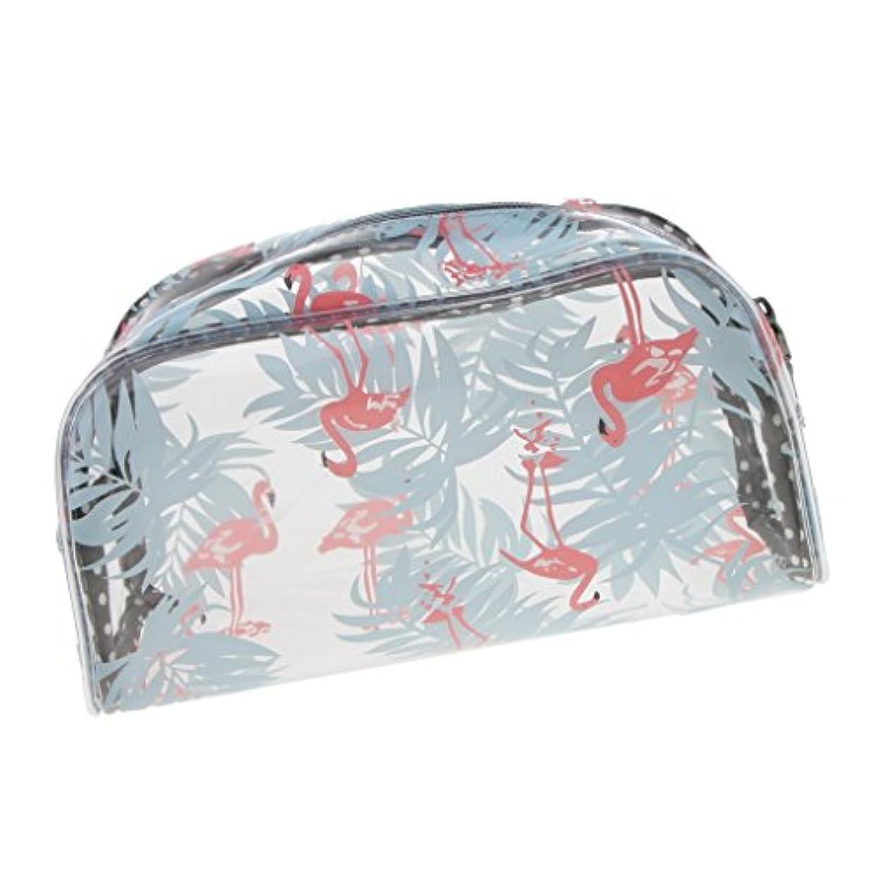 リング偽造不愉快明確な透明なプラスチックポリ塩化ビニール旅行構造の化粧品の洗面用品のジッパー袋 - #3