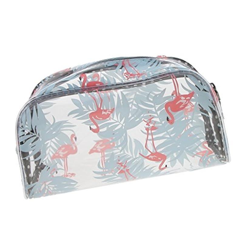 メルボルン差別矛盾するCUTICATE 明確な透明なプラスチックポリ塩化ビニール旅行構造の化粧品の洗面用品のジッパー袋 - #3