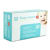 Bumkins Flushable Diaper Liner, Neutral, 100 Count by Bumkins