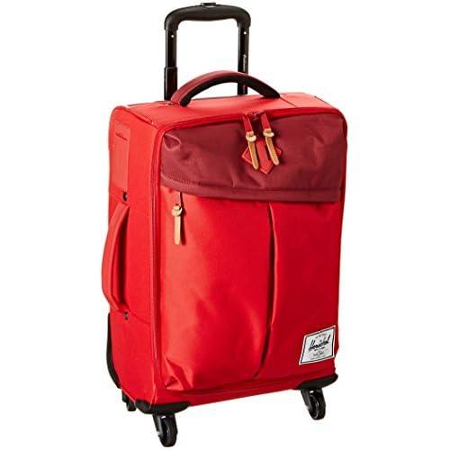 [ハーシェルサプライ] Herschel Supply Highland Luggage 10104-00453-OS Red/Burgundy/Rust/Red Rubber (Red/Burgundy/Rust/Red Rubber)