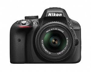 Nikon デジタル一眼レフカメラ D3300 18-55 VR IIレンズキット ブラック D3300LKBK