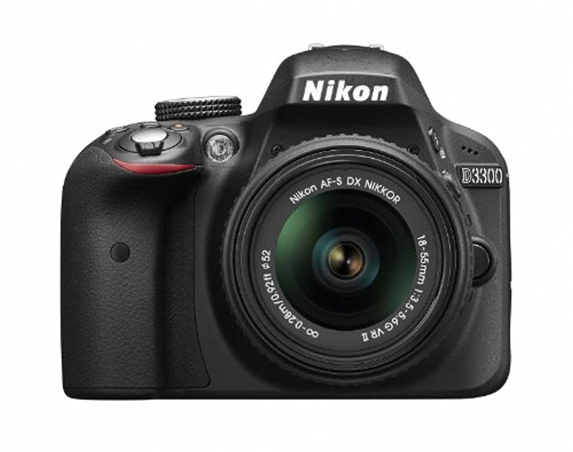 ジャングルかるギャングスターNikon デジタル一眼レフカメラ D3300 18-55 VR IIレンズキット ブラック D3300LKBK