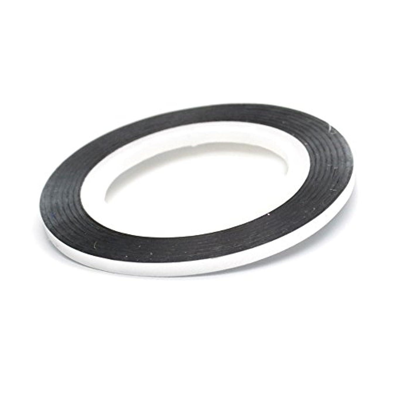 ふりをする切断するシャークネイル ラインテープ【シルバー】0.8mm ストライピングテープ