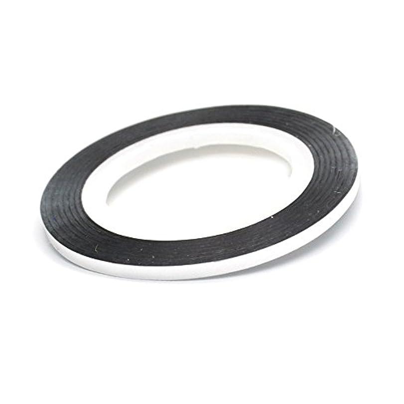 平和的可動抵抗力があるネイル ラインテープ【シルバー】2mm ストライピングテープ