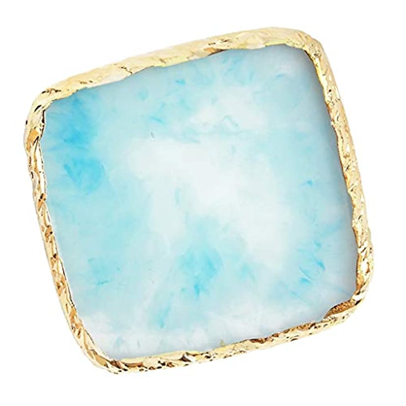 支配的消す膨張するB Baosity ネイルアート イング カラー パレット ミキシングパレット 6色選べ - 青
