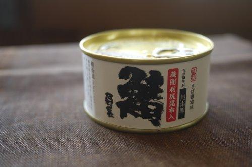 田村長 大鯖の缶詰 醤油味 昆布入(化学調味料無添加)