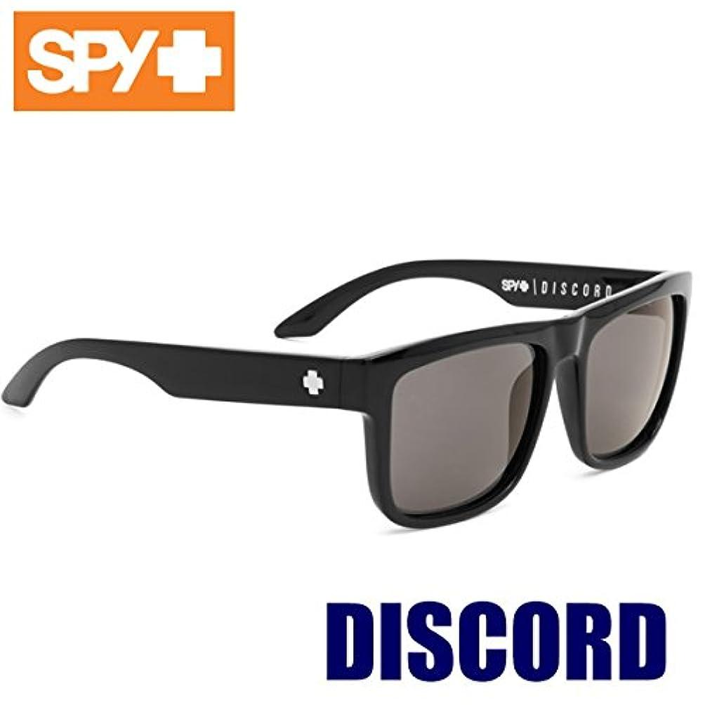 超越する発症礼儀SPY(スパイ) サングラス メンズ DISCORD ブラック?グレー ディスコード BLACK GREY