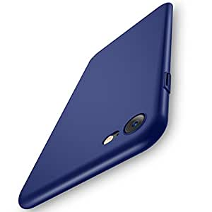 RANVOO iPhone 8 ケース / iPhone 7 ケース ハードケース 薄型 耐衝撃 指紋防止(iPhone8/7,ダークブルー)
