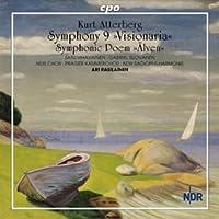 アッテルベリ:交響曲 第9番 Op.54「幻想的交響曲」/交響詩「河 - 山から海まで」 Op.33