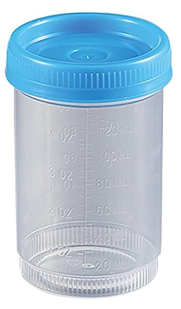 速報通貨バリケードアズワン 食品検体容器 120mL 青(100個入り) /2-3259-04