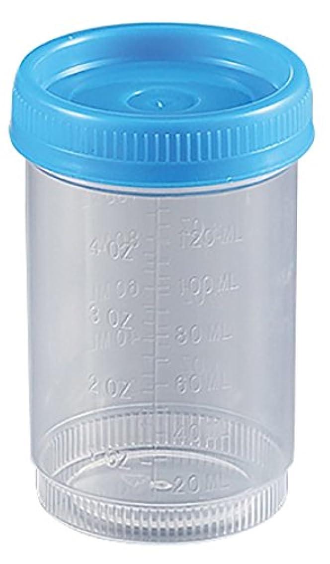 時センチメートル解説アズワン 食品検体容器 120mL 青(100個入り) /2-3259-04