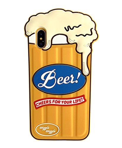 iPhone 8 Plus ケース 3D牛乳ボックス ビール...