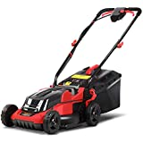 Giantz Lawn Mower Electric 36V Cordless Lawnmower with 2 Rechargeable Battery for Garden Backyard Patio