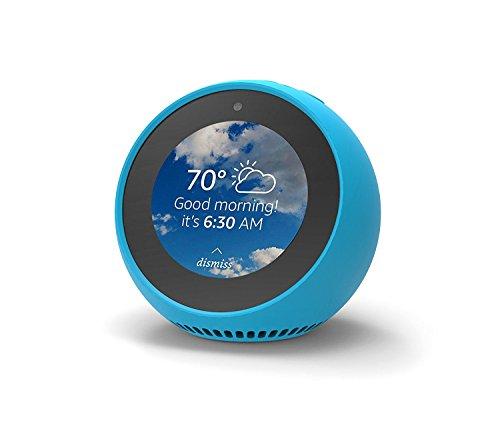 Amazon Echo Spot エコースポット シリコンカバー 保護カバー ケース (バハマブルー)