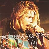 ROCK'N'ROLL IS HERE TO STAY♪紗羅マリーのCDジャケット