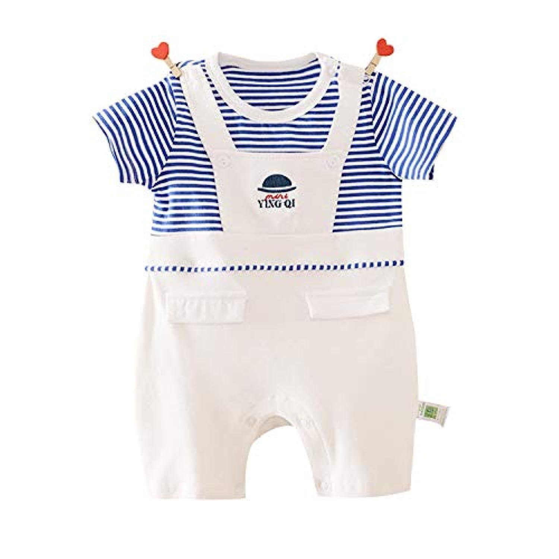 【Cuckoo Baby】 ベビー洋服フォーマル半袖 セレモニーロンパース 結婚式服 男の子 女の子 新生児服 前開き赤ちゃん服0-12M