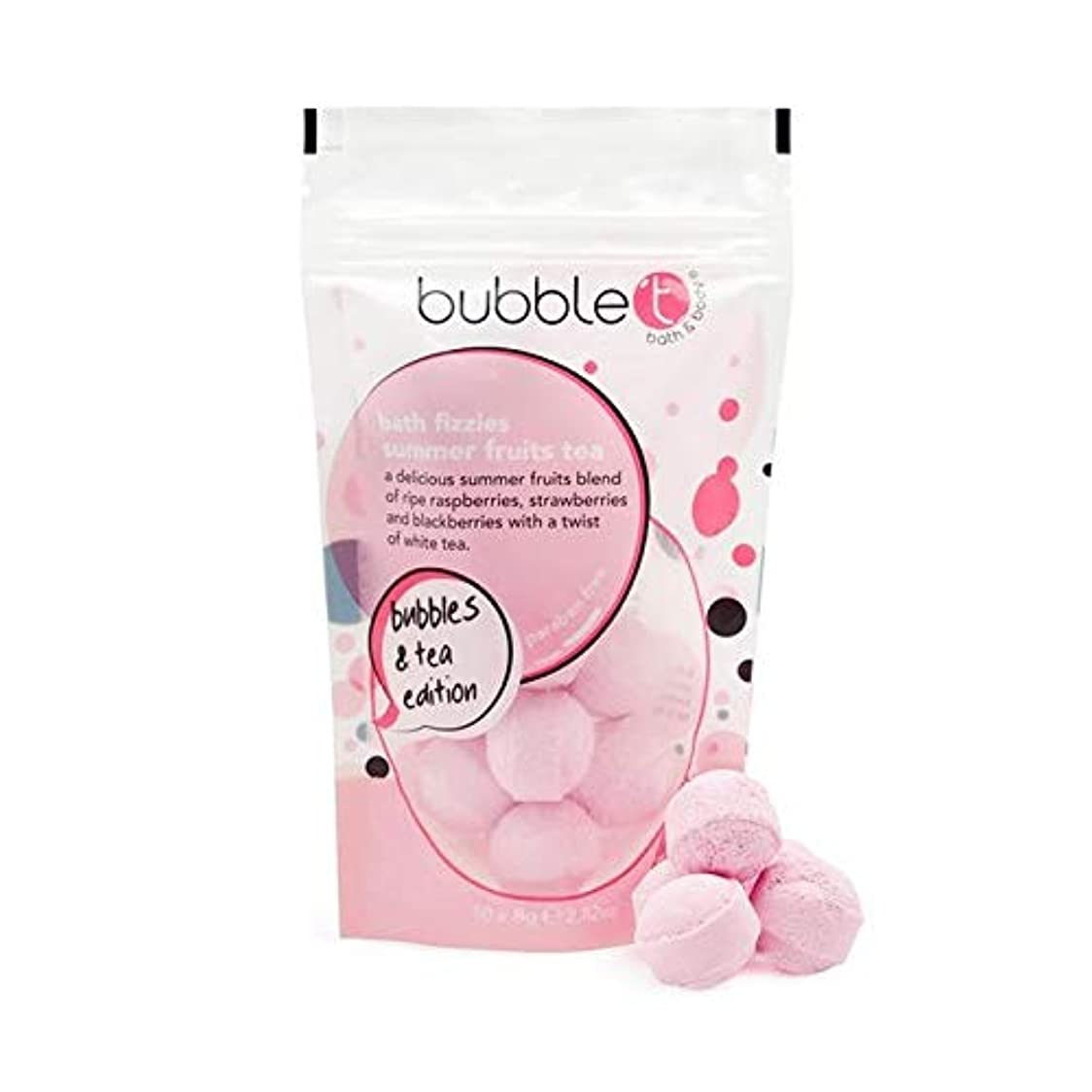 城干ばつ言及する[Bubble T ] バブルトンの夏の果物風呂爆弾Fizzersの5グラム - Bubble T Summer Fruits Bath Bomb Fizzers 5g [並行輸入品]