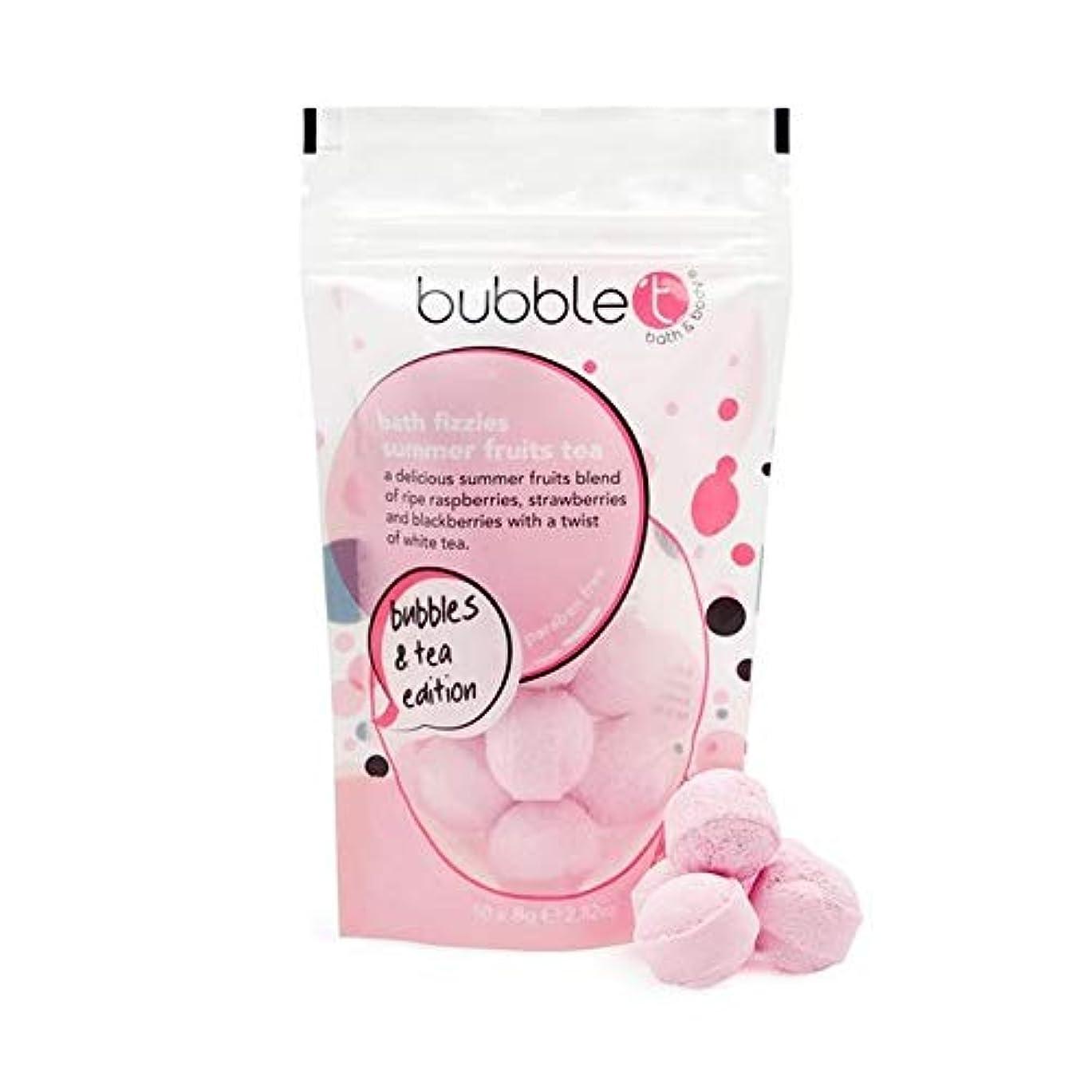 イデオロギースプーンやさしい[Bubble T ] バブルトンの夏の果物風呂爆弾Fizzersの5グラム - Bubble T Summer Fruits Bath Bomb Fizzers 5g [並行輸入品]