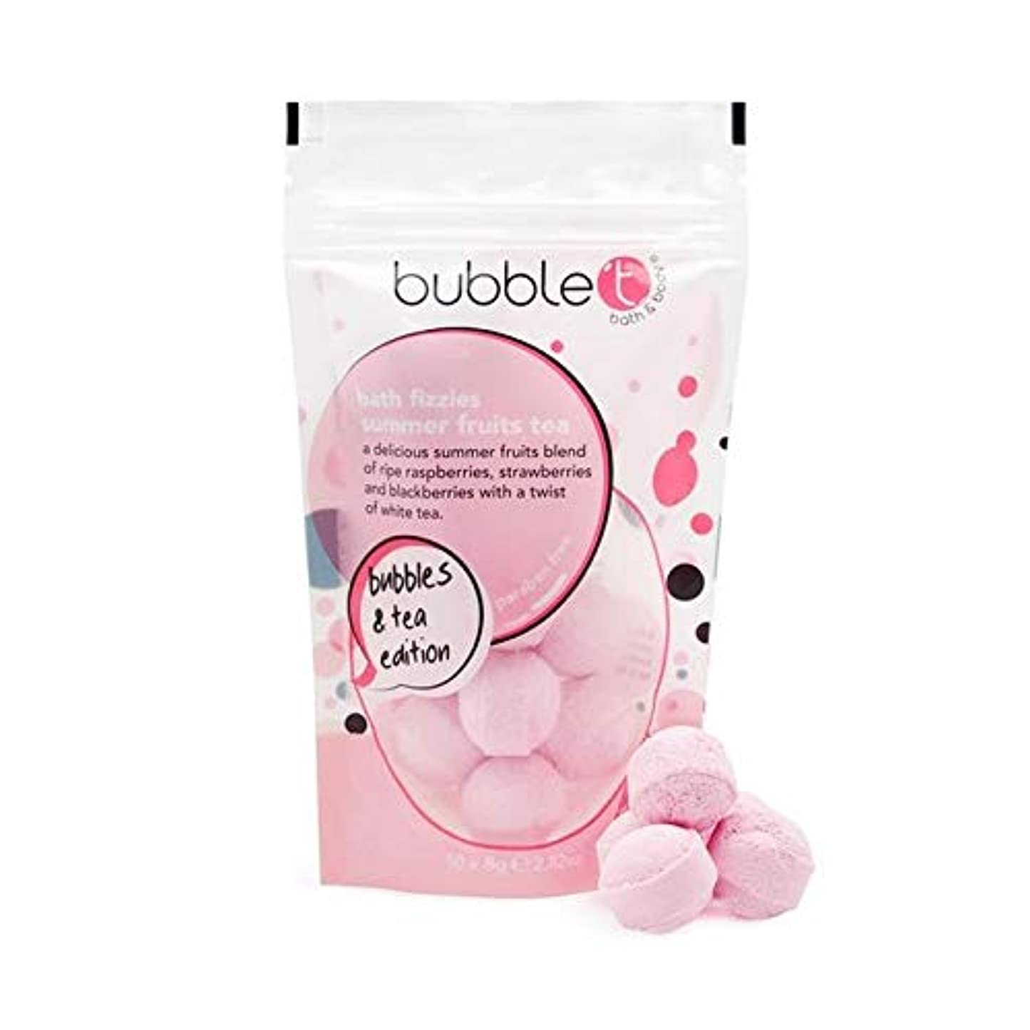 メドレーシェアリングバック[Bubble T ] バブルトンの夏の果物風呂爆弾Fizzersの5グラム - Bubble T Summer Fruits Bath Bomb Fizzers 5g [並行輸入品]