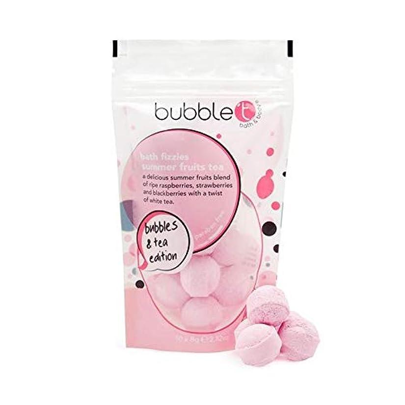 絡み合い破裂アサー[Bubble T ] バブルトンの夏の果物風呂爆弾Fizzersの5グラム - Bubble T Summer Fruits Bath Bomb Fizzers 5g [並行輸入品]